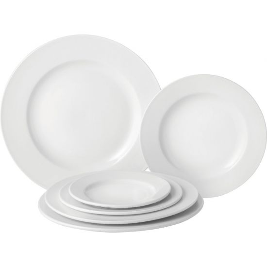 Wide Rim Plate 11.5 Inch (29cm) 3 Boxes Of 6 UTT E10029-000000-B06018