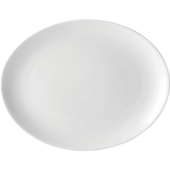 Oval Plate 10 Inch (25cm) 4 Boxes Of 6 UTT E20025-000000-B06024