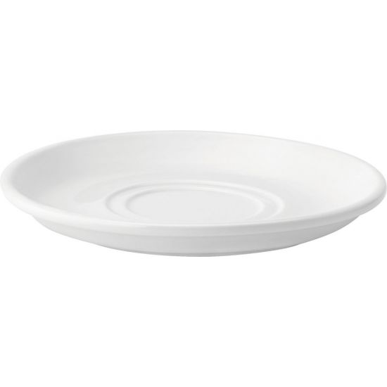 Double Well Saucer 7 Inch (17.5cm) 6 Boxes Of 6 UTT E80018-000000-B06036