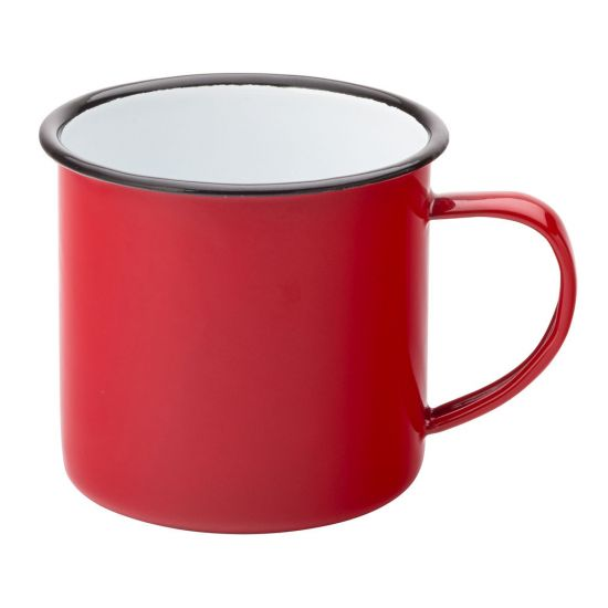 Eagle Enamel Red Mug 13.5oz (38cl) 3 Inch (8cm) Box Of 6 UTT F50020-000000-B01006