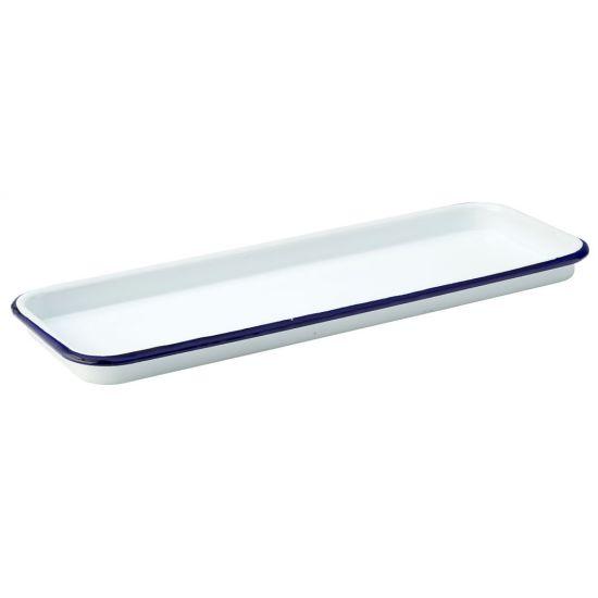Eagle Enamel Baking Tray 13.75 X 5 Inch (35 X 12.5cm) Box Of 6 UTT F51013-000000-B01006