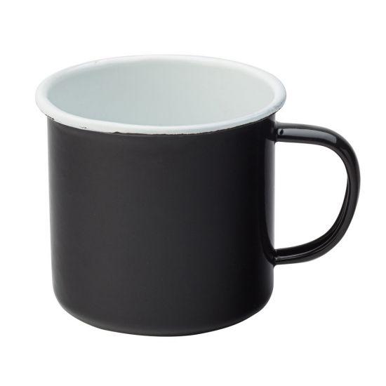 Eagle Enamel Black Mug 13oz (37cl) Box Of 6 UTT F51017-000000-B01006