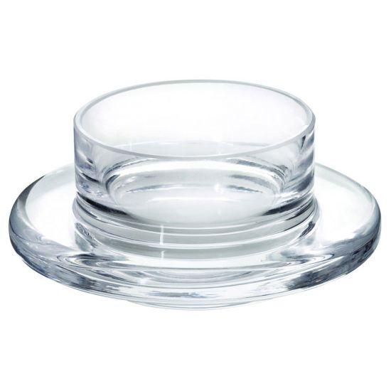 Glass Base For Butter Dish 3.5 Inch (9cm) 1oz (3cl) Box Of 6 UTT F91001-000000-B01006