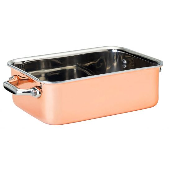 Copper Roasting Dish 6 X 4.5 Inch (15 X 11.5cm) 22.5oz (64cl) Box Of 6 UTT F91017-000000-B01006