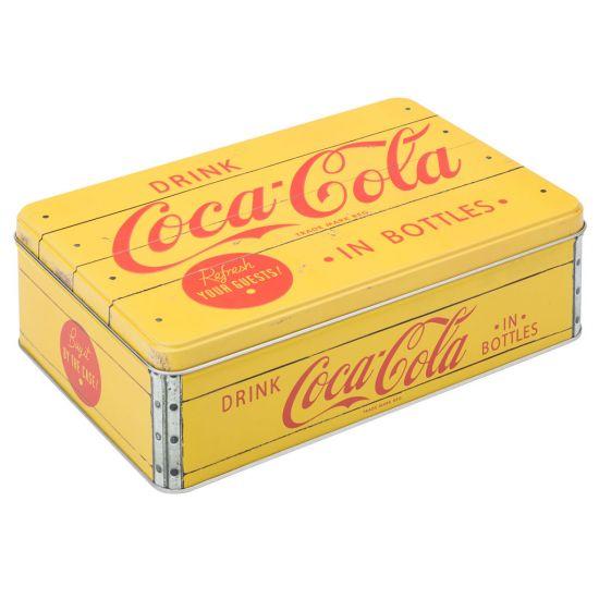 Retro Drink Box 9 X 6.25 Inch (23 X 16cm) H:7cm Box Of 4 UTT F91301-000000-B01004