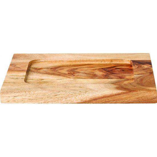 Rectangular Wood Board 8.25 X 6.25 Inch (21 X 16cm) Box Of 6 UTT JMP947-000000-B01006