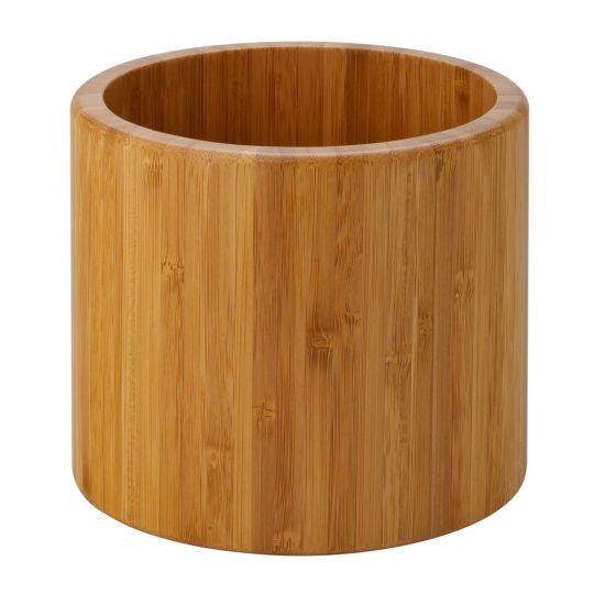 Set Of 3 Bamboo Riser/Display Bowl - Heights: 6, 4.75, 3.5 Inch (15, 12, 9cm), Width: 6.75, 5.5, 4.5 Inch (17, 14, 11.5cm) Set Of 3 UTT JMP959-000000-B01001