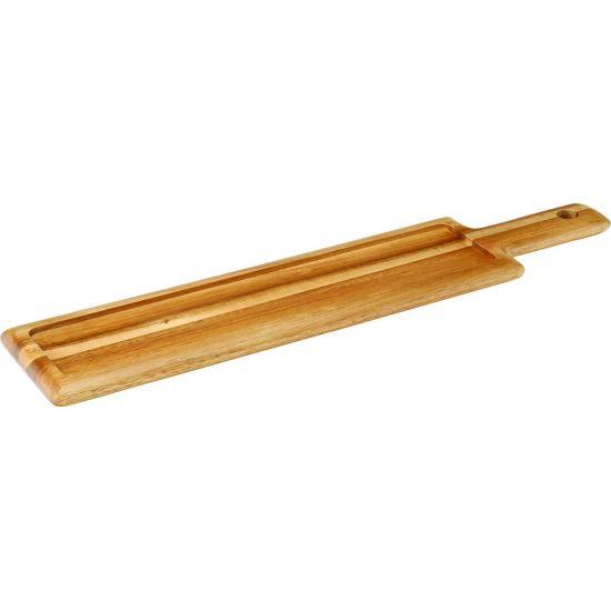 Acacia Handled Board 17 X 4.75 Inch (43 X 12cm) Box Of 6 UTT JMP976-000000-B01006