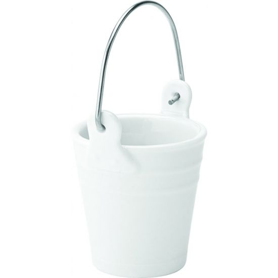 Pail 2.5 X 2.5 Inch (6.5 X 6.5cm) 3.5oz (10cl) Box Of 6 UTT K10062-000000-B01006
