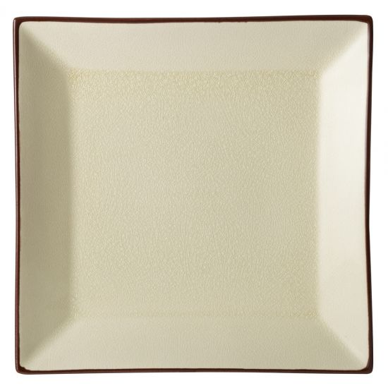 Stone Square Plate 10 Inch (25cm) Box Of 6 UTT K90027-000000-B01006
