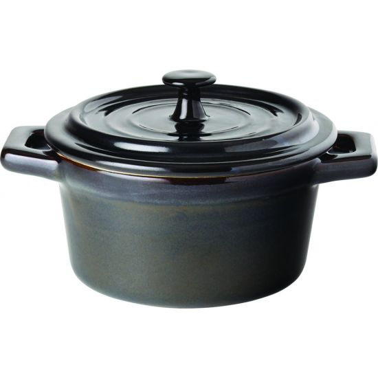 Midnight Round Casserole 4 Inch (10cm) 9oz (26cl) Box Of 6 UTT M14018-000000-B01006