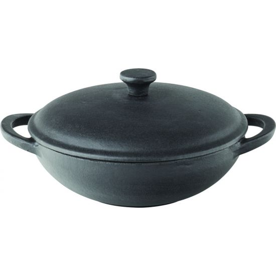 Mini Wok With Lid 8.5 Inch (21.5cm) 20oz (58cl) Box Of 6 UTT MH7001-000000-B01006