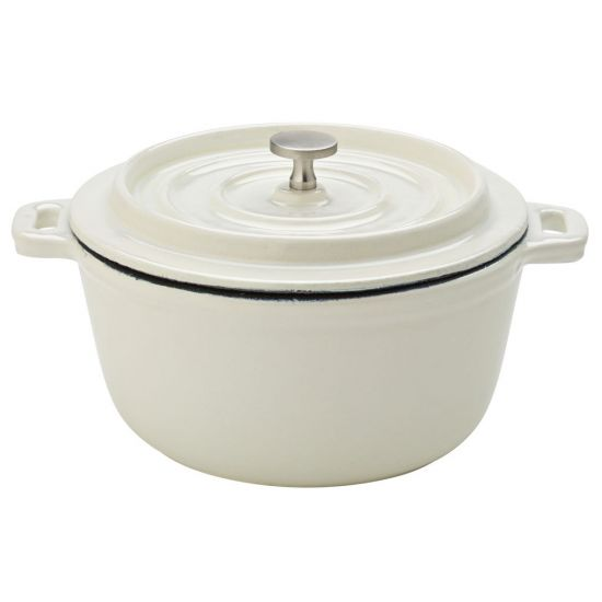 Cast Iron Calico Round Casserole 5.5 Inch (14cm) Box Of 6 UTT MH7005-000000-B01006