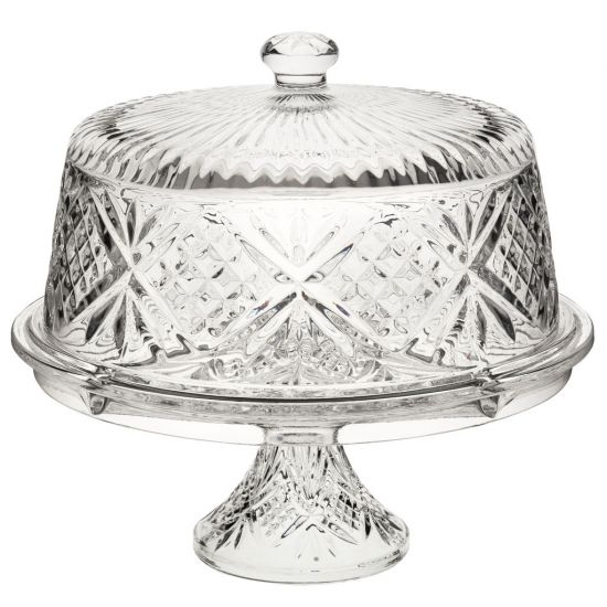 Vintage Cake Dome & Stand 12 Inch (30cm) Box Of 1 UTT R90004-000000-B01001