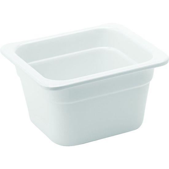 Melamine White GN 1/6 - 4 Inch (10cm) Deep Box Of 1 UTT JMP139-000000-B01001