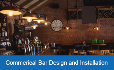 Commercial Bar Design and Installation